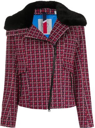Rossignol Josiane houndstooth-print jacket
