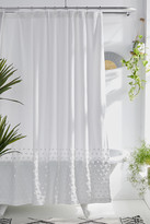 Urban Outfitters Tufted Dot Shower Curtain