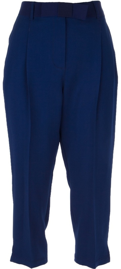 Lanvin cropped tailored trouser
