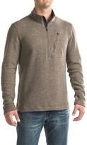 Toad&Co Outbound Fleece Shirt - Zip Neck, Long Sleeve (For Men)