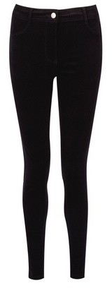 Dorothy Perkins Womens Black Cord 'Frankie' Jeans, Black