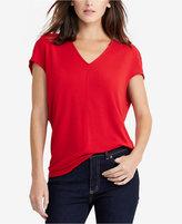 Lauren Ralph Lauren Dolman-Sleeve Jersey Shirt