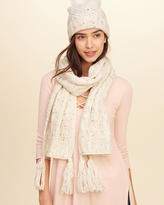 Hollister Textured Knit Scarf