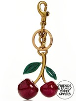 Coach Cherry Bag Charm- Gold