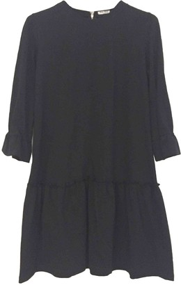 Miu Miu Black Cotton Dress for Women