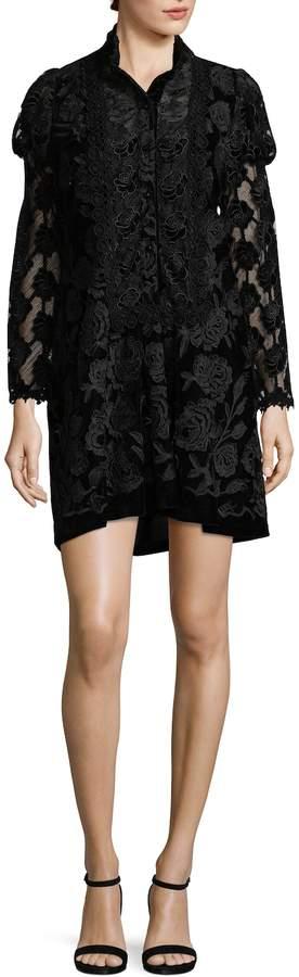 Anna Sui Women's Floral Short Dress
