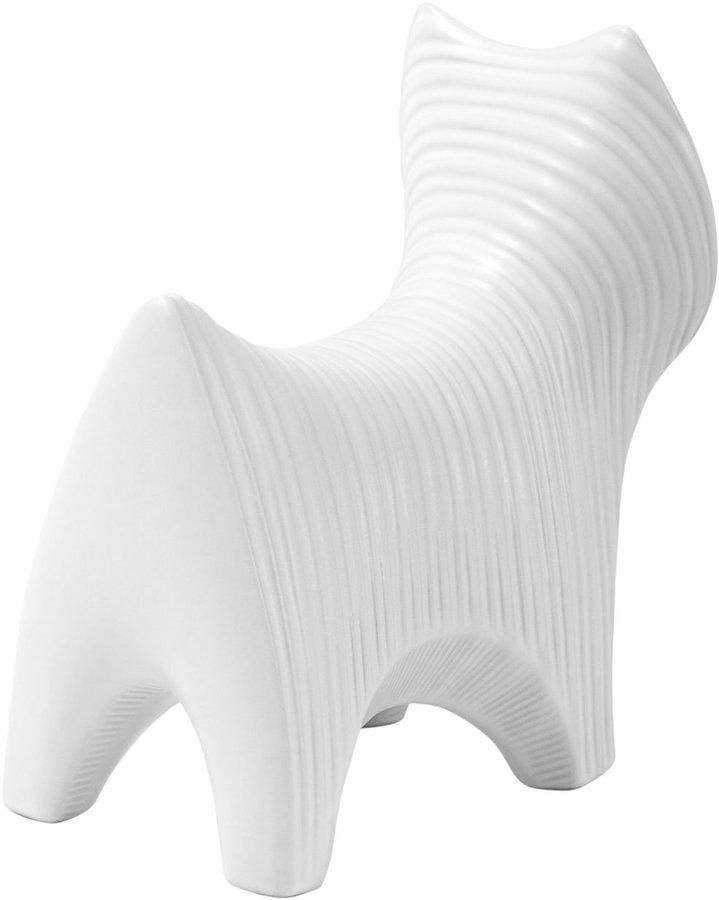 Jonathan Adler Menagerie Figurine, Terrier-White