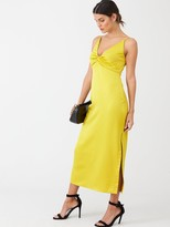 Very Cami Slip Dress - Chartreuse