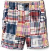 Gap Patchwork plaid shorts