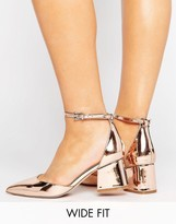 Asos Starling Wide Fit Pointed Heels