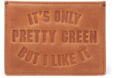 Pretty Green Opg Tan Leather Card Holder