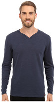 Agave Denim Yuma One Button Long Sleeve Crew