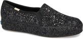 Kate Spade Keds(R) For Keds(R) x triple decker allover glitter slip-on sneaker