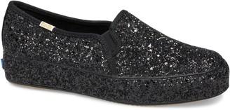 Keds for kate spade new york Keds x kate spade new york triple decker allover glitter slip-on sneaker