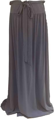 Lanvin Blue Silk Skirt for Women