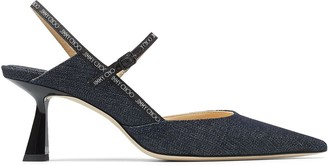 Jimmy Choo Ray 65mm denim pumps