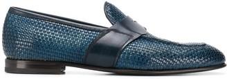 Silvano Sassetti Woven Classic Loafers