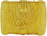 Matra 18K plated Bollywood Designer Hinged Bangle Wedding Bracelet Jewelry
