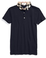Burberry Boy's 'William' Cotton Polo