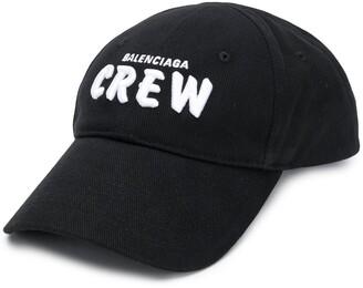 Balenciaga Crew embroidered logo cap