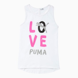 Puma Alpha Girls' Cross Back Fashion Tank JR