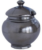 "Juliska Pewter"" Lidded Sugar Bowl"