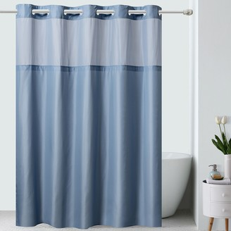 Hookless Serena Shower Curtain & Fabric Liner