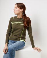 Jaeger Texture Block Sweater