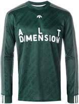 Adidas Originals By Alexander Wang Soccer long-sleeved top