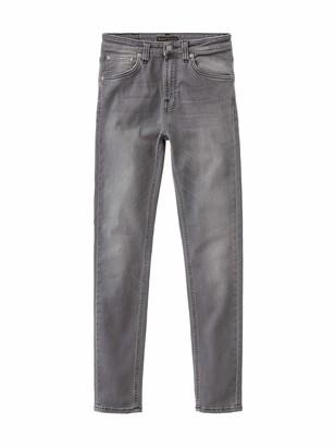 Nudie Jeans Women's Hightop Tilde Grey Wash 33/30