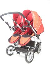 Bed Bath & Beyond Stroll-Air My Duo Stroller in Red