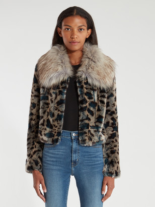 Eye of the Tiger Faux Fur Jacket