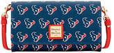 Dooney & Bourke NFL Houston Texans Daphne Crossbody Wallet Shoulder Bag