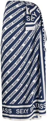 Marlies Dekkers long 'sexy badass' scarf