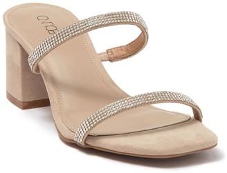 Abound Lacey Black Heel Sandal