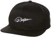 rhythm Signature Snapback Cap Black