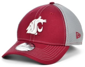New Era Washington State Cougars 2 Tone Neo Stretch Fitted Cap