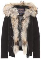 Woolrich Military fur-trimmed coat