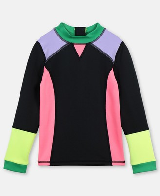 Stella McCartney swim colour block scuba t-shirt