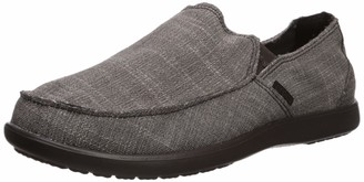 Crocs Men's Santa Cruz Slip-On Loafer Black 7 M US