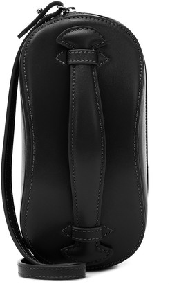 Low Classic Structure Mini leather crossbody bag