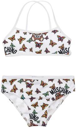 Moschino All Over Print Lycra Bikini