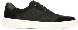 Vince Barnett Mixed Suede Sneakers