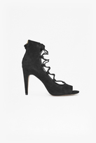 French Connection Narina Suede Lace Up Heels
