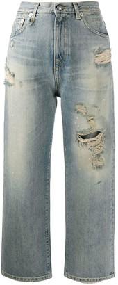 R 13 Straight Leg Jeans