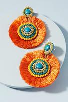 Anthropologie Malia Fringe Drop Earrings