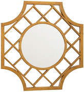 "Chelsea House Lattice 30""x32"" Wall Mirror - Antiqued Gold"