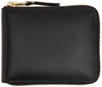 Comme des Garcons Wallets Black Line Zip Around Wallet