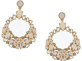 Kate Spade Mother-of-Pearl Orbital Statement Earrings