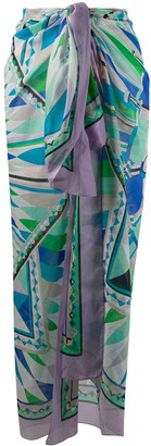 Emilio Pucci Abstract Print Scarf